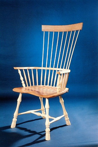 Hand made wooden chair