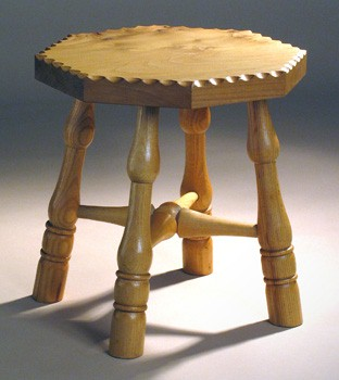 Low stool ash and elm